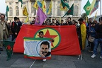 Everybody at the square against Turkish invasion of Rojava