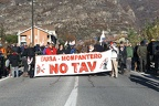 14th NO TAV March from Susa to Venaus, Dec 8 2019